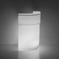 Bar lumineux d'angle Art Déco - CORDIALE - SLIDE
