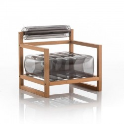 Fauteuil Gonflable - YOKO WOOD - MOJOW
