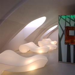 chaise longue lumineuse - ROCOCO - lemobilierlumineux.com