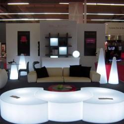 Banc lumineux - MOON - lemobilierlumineux.com