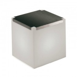 Table basse lumineuse - KUBO - INOX  - SLIDE