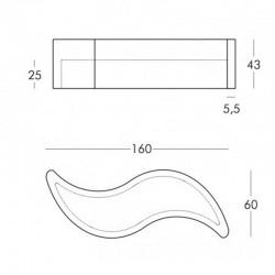 Banc lumineux / Table basse lumineuse - WAVE - SLIDE
