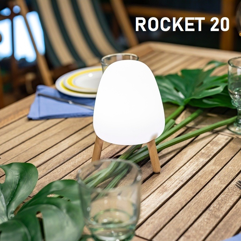 Lampe rechargeable led - ROCKET 20 - Newgarden