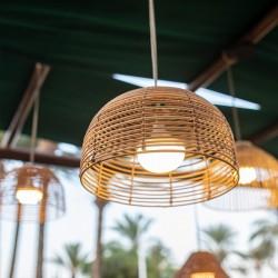 Suspension extérieure LED intégrée