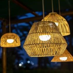 Suspension extérieure LED intégrée - SISINE - Newgarden