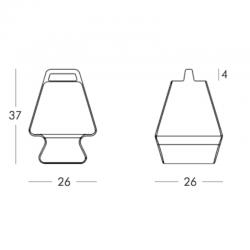 PRÊT-À-PORTER - Lampe à poser