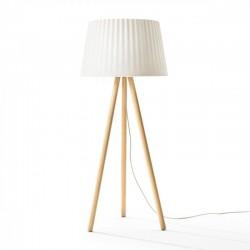 Lampadaire intérieur ou extérieur - AGATA  Wood - myyour