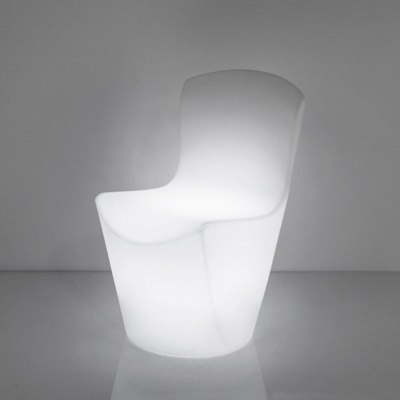 Chaise lumineuse - ZOE - SLIDE