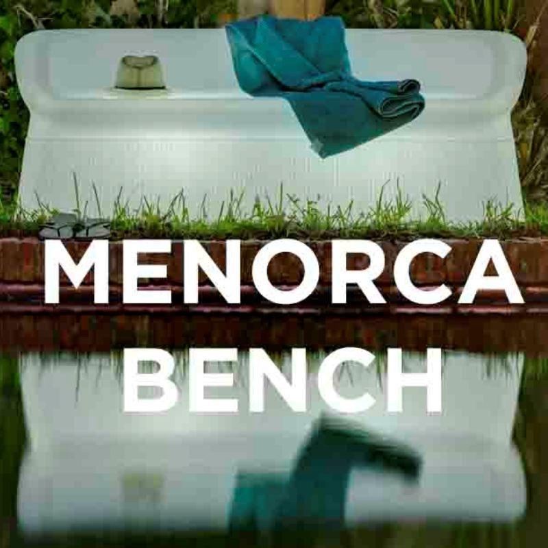 Canapé lumineux - MERNORCA BENCH - Newgarden