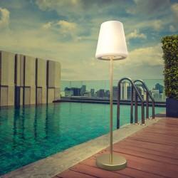 Lampadaire solaire et rechargeable- lola slim 180 - Newgarden