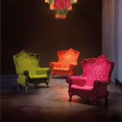 Fauteuil trône - Queen Of Love - SLIDE