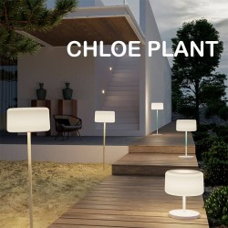 Lampadaire solaire rechargeable à poser ou à planter - CHLOE PLANT - Newgarden