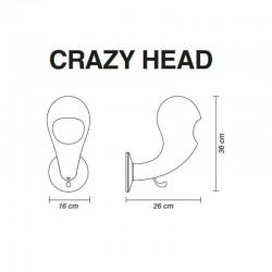 Porte manteau  - CRAZY HEAD