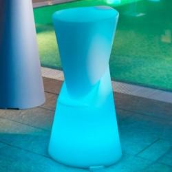 Tabouret de bar lumineux - DOT - LYXO