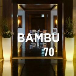 Pot de fleur lumineux - BAMBU 70 - Newgarden