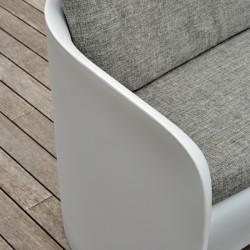 Canapé coussin gris d'extérieur ou d'intérieur - NOVA - myyour