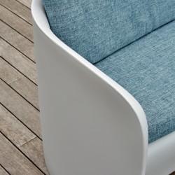 Canapé coussin bleu d'extérieur ou d'intérieur - NOVA - myyour