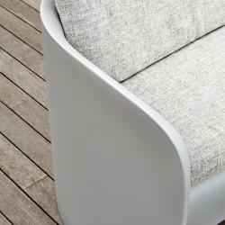 Canapé coussin blanc d'extérieur ou d'intérieur - NOVA - myyour
