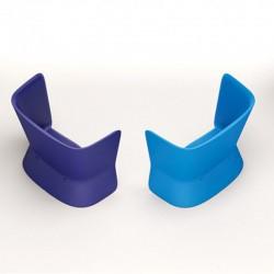 Canapé bleu d'extérieur ou d'intérieur - NOVA - myyour