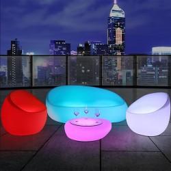 Canapé lumineux LED - MOON - lemobilierlumineux.com