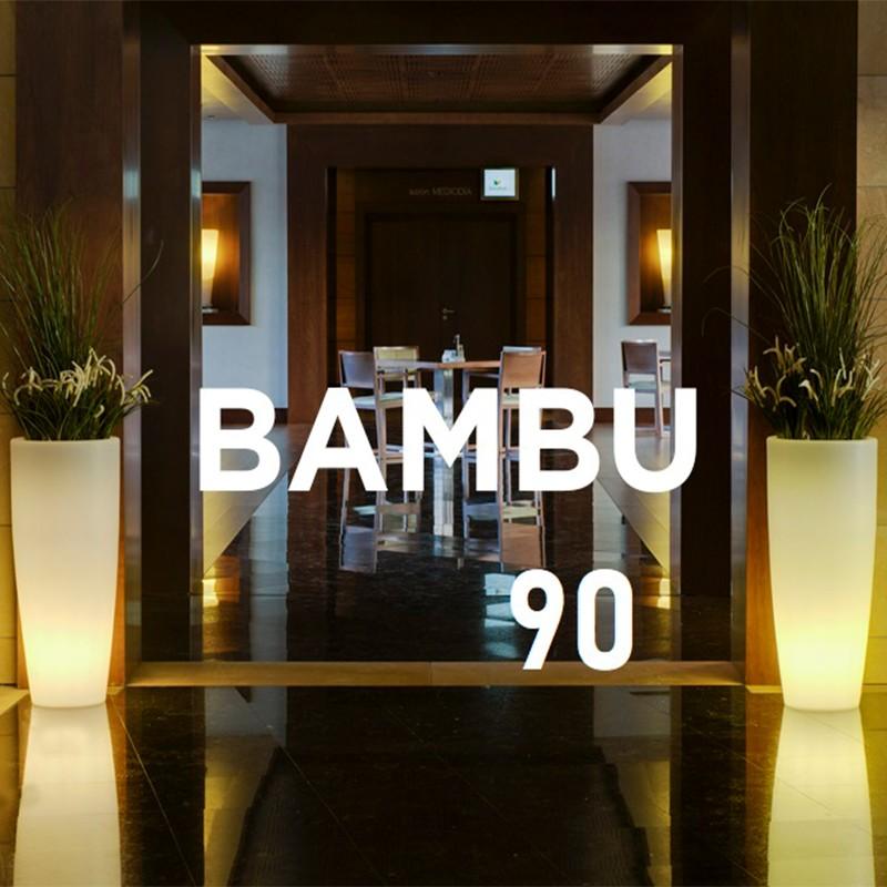 Pot de fleur lumineux - BAMBU 90 - Newgarden