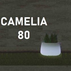 Pot de fleur lumineux - CAMELIA 80 - Newgarden