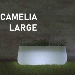 Pot de fleur lumineux - CAMELIA Large - Newgarden