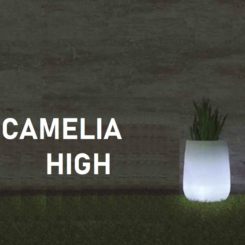 Pot de fleur lumineux - CAMELIA High - Newgarden