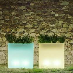 Pot de fleur lumineux - JUNCO 80 - Newgarden