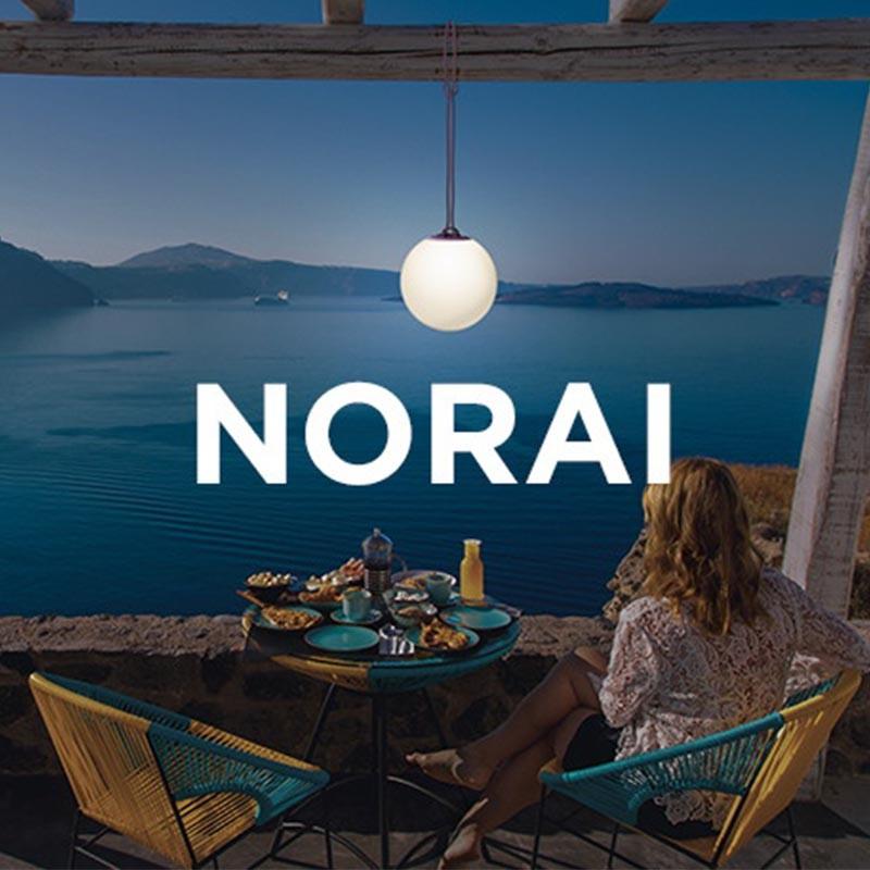 Suspension lumineuse intérieur et extérieur - NORAI - Newgarden