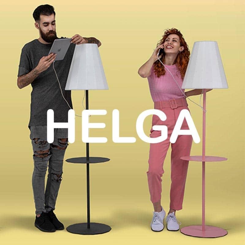Lampadaire solaire - HELGA - Newgarden - lemobilierlumineux.com