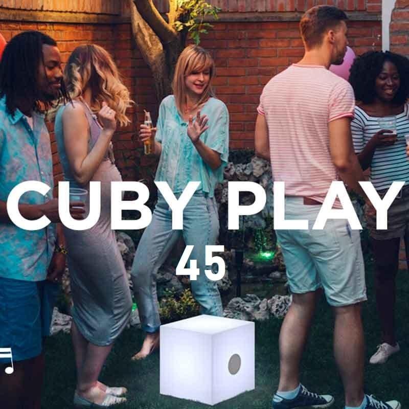 Cube lumineux & enceinte - CUBY PLAY 45 - Newgarden