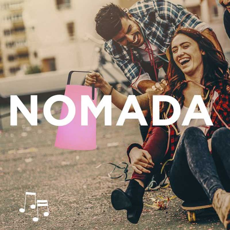 Lampe musicale - NOMADA-PLAY - Newgarden