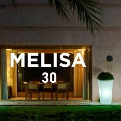 Pot de Fleurs Lumineux - MELISA 30 - Newgarden