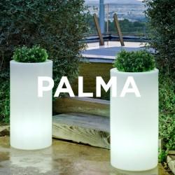 Pot de Fleurs Lumineux cylindrique - PALMA 70 - Newgarden