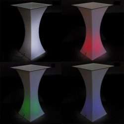 Mange debout lumineux LED - KABET - lemobilierlumineux.com