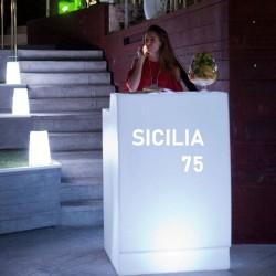 Bar lumineux - SICILIA 75 - Newgarden