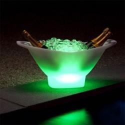 Seau à glace lumineux Champagne - lemobilierlumineux.com