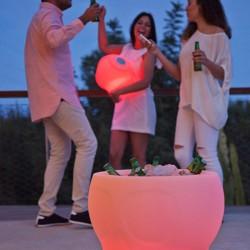Seau à champagne lumineux - MELVIN - Newgarden