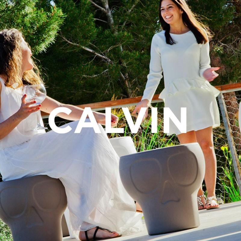 Tabouret lumineux - CALVIN - Newgarden