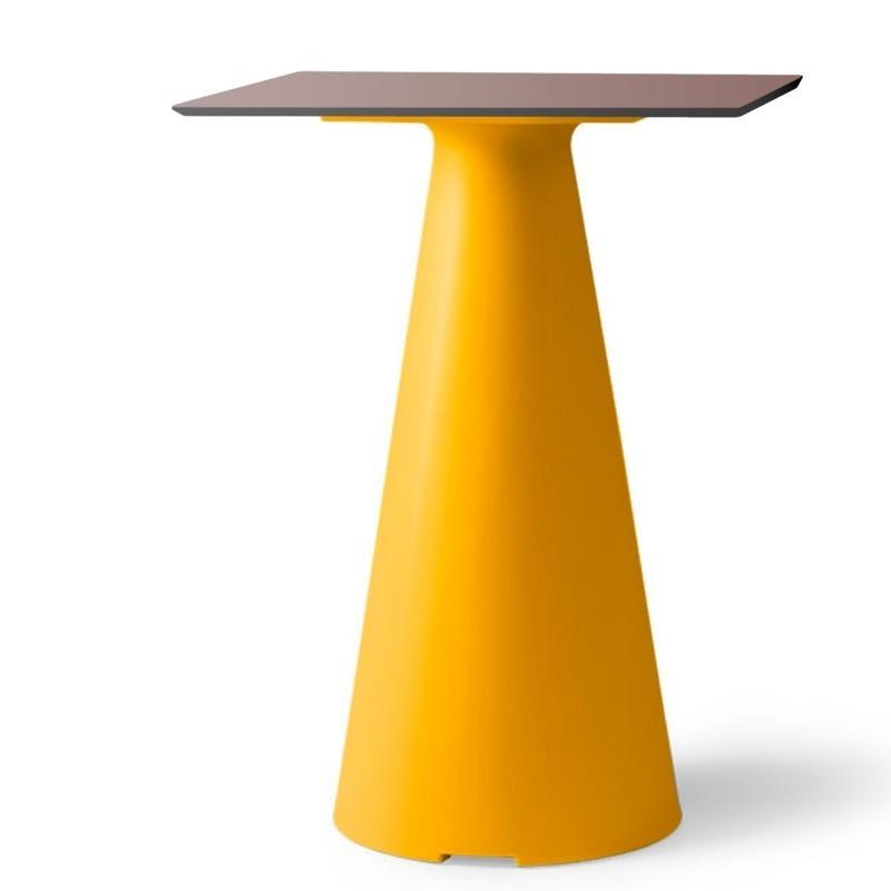 Table bistrot de jardin design et coloré - TIFFANY - LYXO