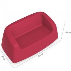 Canapé coloré - SUGAR - LYXO taille