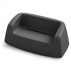 Canapé coloré - SUGAR - LYXO - noir
