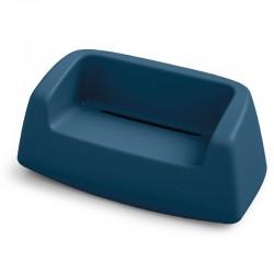 Canapé coloré - SUGAR - LYXO bleu