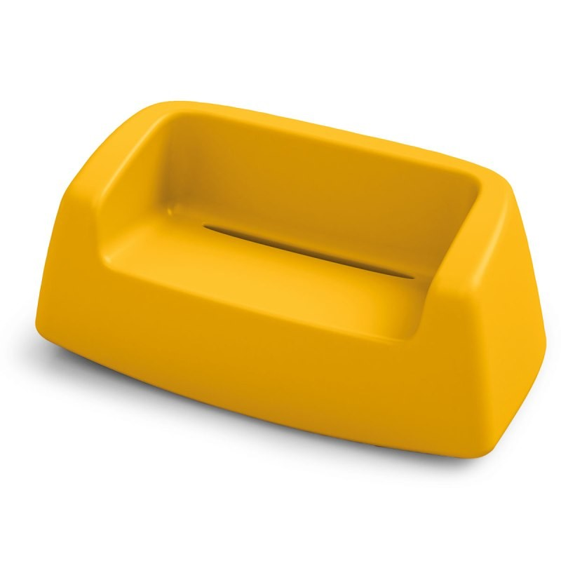 Canapé coloré - SUGAR - LYXO jaune