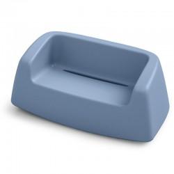 Canapé coloré - SUGAR - LYXO bleu ciel