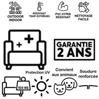 canapé gonflable - lemobilierlumineux.xom